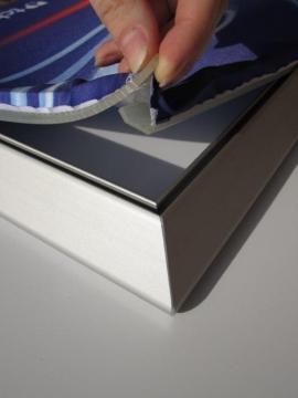 Met textielframes heb je ��n van de meest veelzijdige en gemakkelijke systemen van belettering in handen.